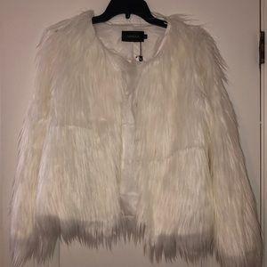 Jackets & Blazers - Faux long sleeve jacket